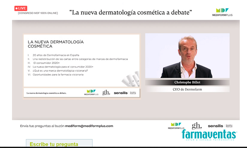 Christophe Billet, CEO de Dermofarm