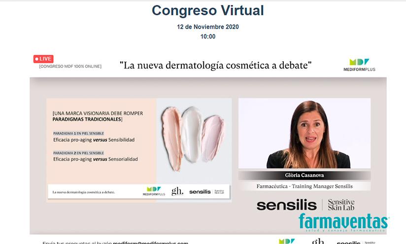Gloria Casanova farmacéutica y Training Manager de Sensilis