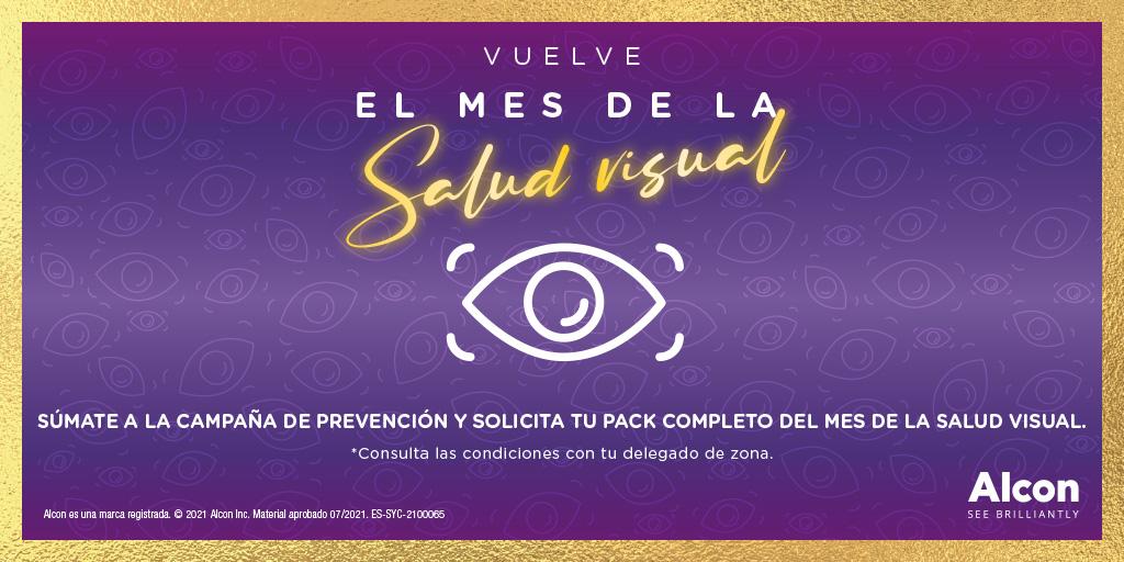Vuelve el mes de la Salud Visual con Systane