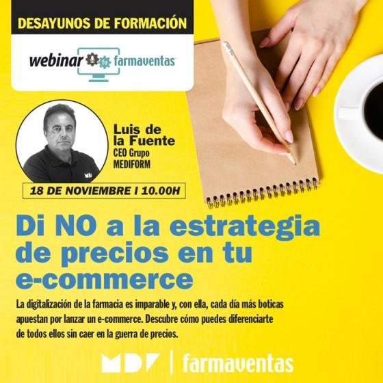 Desayunos de Formación: Di NO a la estrategia de precios en tu e-commerce