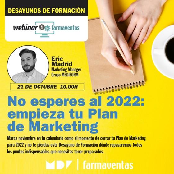 Desayunos de Formación: No esperes al 2022: empieza tu Plan de Marketing