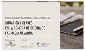CONVERSIONES PATRIMONIALES ENTRE EXPERTOS. SITUACIÓN Y CLAVES EN LA COMPRA DE FARMACIA EN NAVARRA